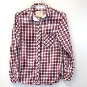 Victoria's Secret Red Plaid Flannel - XS